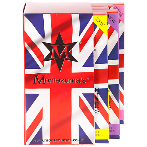 Buy Montezuma's British Pudding Chocolate Bar Libary, 500g Online at johnlewis.com