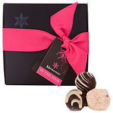 Buy Montezuma's In The Pink Chocolate Truffle Collection, 210g Online at johnlewis.com