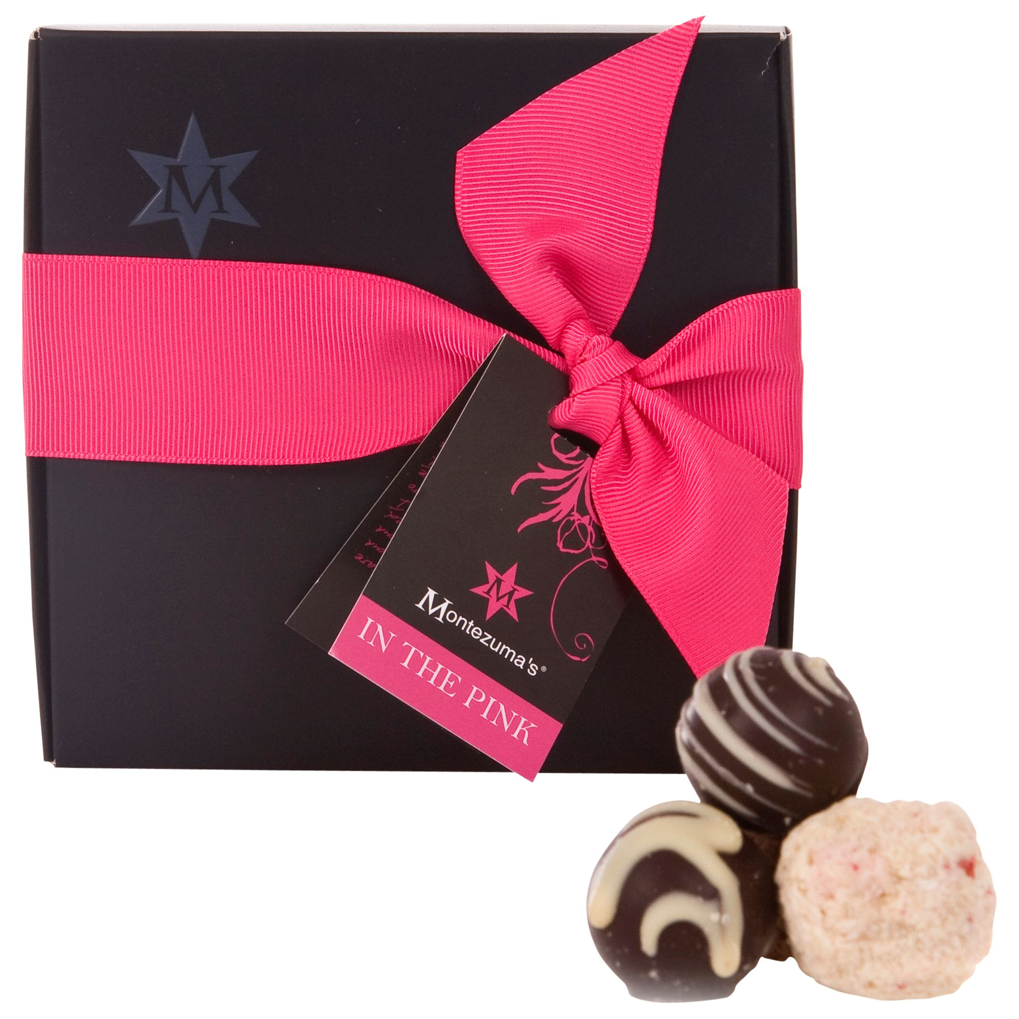 Montezuma's In The Pink Chocolate Truffle Collection, 210g