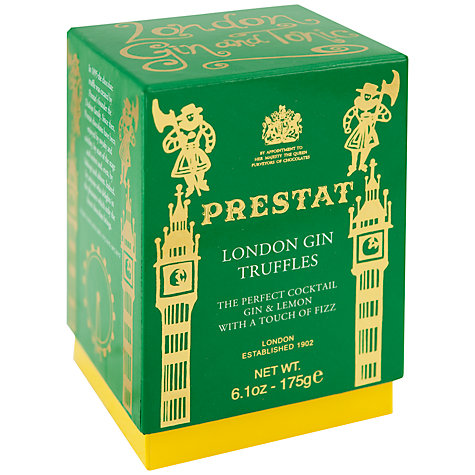 Buy Prestat London Gin Truffles, 175g Online at johnlewis.com