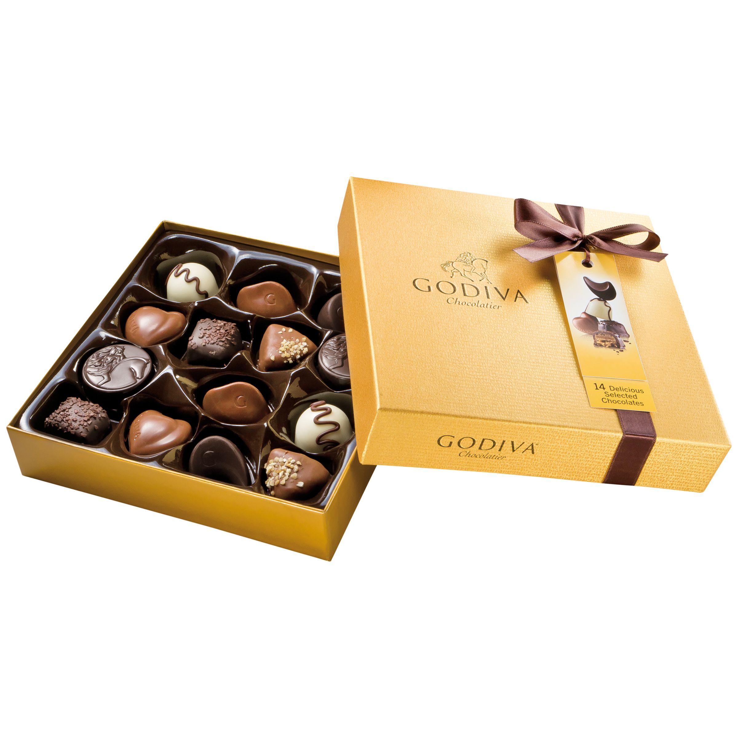 Godiva Godiva Gold Chocolate Box, 165g