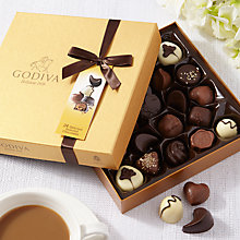 Buy Godiva New Gold Chocolate Box, 290g Online at johnlewis.com