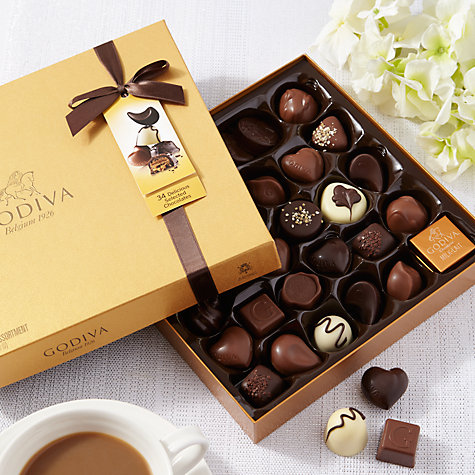 Buy Godiva New Gold Chocolate Box, 385g Online at johnlewis.com