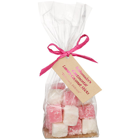 Buy Ambassadors of London Pink and White Coconut Slice, 200g Online at johnlewis.com