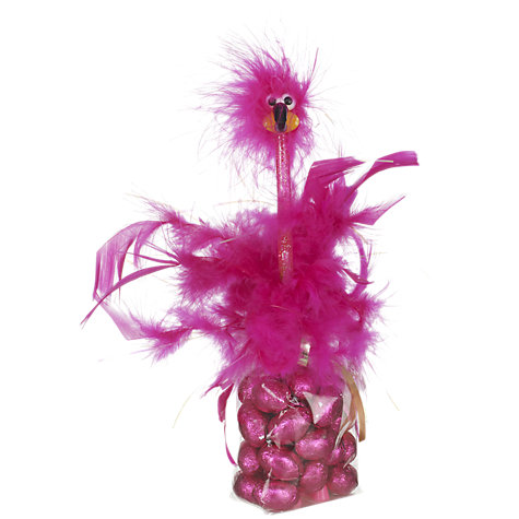 Buy Milk Chocolate Feathered Dame Bird Pen, 140g, Assorted Online at johnlewis.com