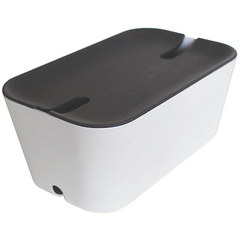 Buy Bosign Cable Tidy with Plastic Lid Online at johnlewis.com