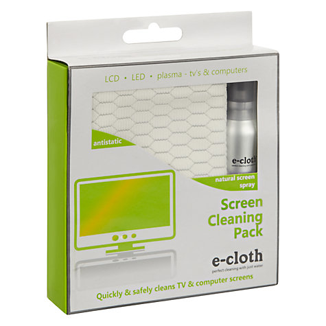 Buy E-Cloth Screen Cleaning Pack Online at johnlewis.com