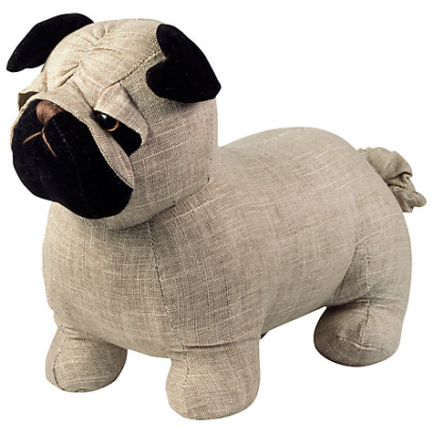 Buy Dora Designs Bogart the Pug Doorstop Online at johnlewis.com