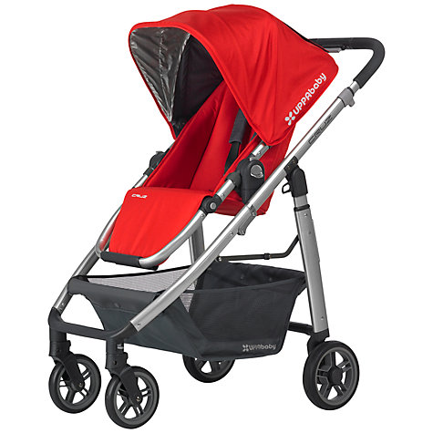 Buy Uppababy Cruz Pushchair, Denny Red Online at johnlewis.com