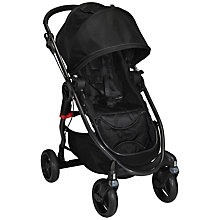 Buy Baby Jogger City Versa Pushchair, Black/Silver Online at johnlewis.com