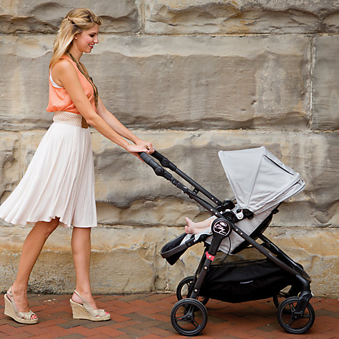 Buy Baby Jogger City Versa Pushchair, Silver Online at johnlewis.com