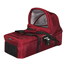 Buy Baby Jogger City Versa Carrycot, Red Online at johnlewis.com