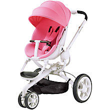 Buy Quinny Moodd Pushchair, Pink Precious Online at johnlewis.com