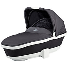 Buy Quinny Foldable Carrycot, Black Iron Online at johnlewis.com