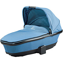 Buy Quinny Foldable Carrycot, Blue Charm Online at johnlewis.com