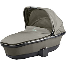 Buy Quinny Foldable Carrycot, Brown Online at johnlewis.com