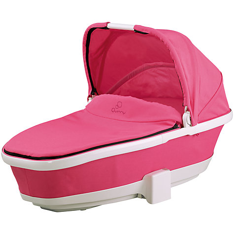 Buy Quinny Foldable Carrycot, Pink Precious Online at johnlewis.com