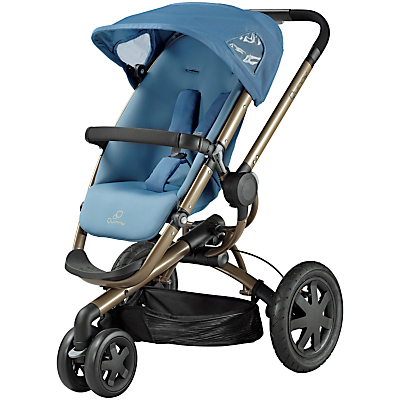 Quinny Buzz 3 Pushchair, Blue Charm