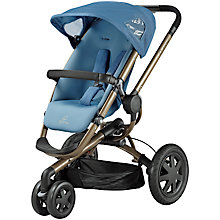 Buy Quinny Buzz 3 Pushchair, Blue Charm Online at johnlewis.com