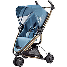 Buy Quinny Zapp Xtra Pushchair, Blue Charm Online at johnlewis.com