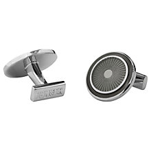 Buy Thomas Pink Circle Wheel Enamel Cufflinks Online at johnlewis.com