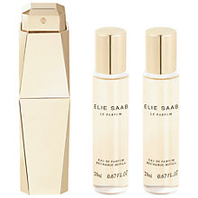 Buy Elie Saab Eau de Parfum Refills and Spray Bottle, 2 x 20ml Online at johnlewis.com