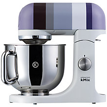 Buy Kenwood kMix KMX82 Food Mixer, Grey Stripe Online at johnlewis.com