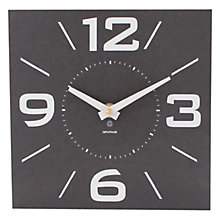 Buy ashortwalk Eco Recyled Coffee Cups Retro Clock , H20 x W20cm Online at johnlewis.com