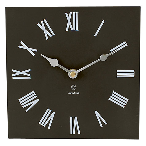 Buy ashortwalk Eco Recyled Coffee Cups Traditional Clock, H20 x W20cm Online at johnlewis.com