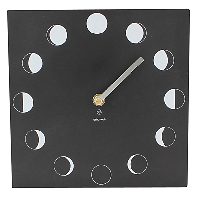 ashortwalk Eco Moon Phase Clock
