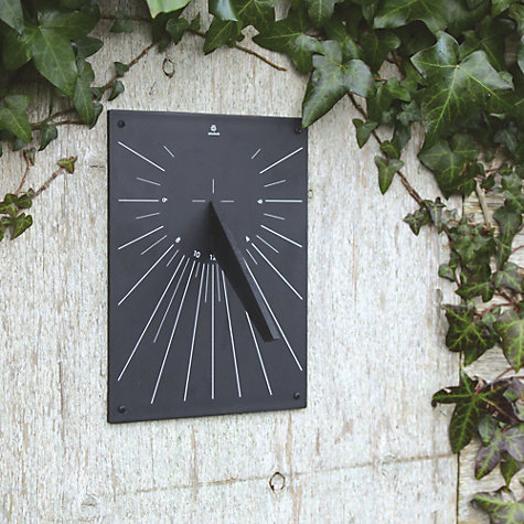 Buy ashortwalk Eco Recyled Coffee Cups Wall Mounted Sundial, H24.5 x W19cm Online at johnlewis.com