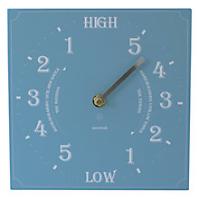 Buy ashortwalk Eco Recycled Yoghurt Pots Tide Clock, 20 x 20cm Online at johnlewis.com