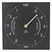 Buy ashortwalk Eco Tide Clock, H20 x W20cm Online at johnlewis.com