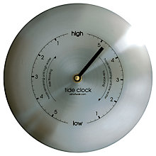 Buy ashortwalk Stainless Steel Tide Clock Online at johnlewis.com