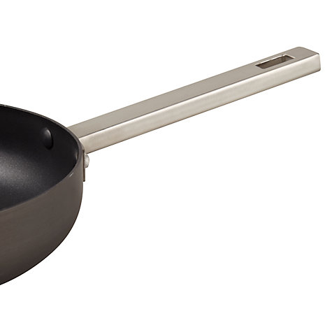 Buy House by John Lewis Hard Anodised Saute Pan, Dia.24cm Online at johnlewis.com