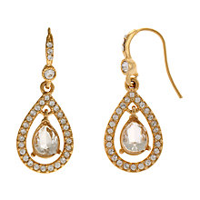 Buy Carolee Gold Tone Glass Tear Drop Earrings Online at johnlewis.com