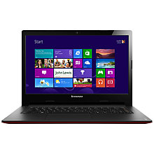 "Buy Lenovo Ideapad S400 Laptop, Intel Pentium, 1.8GHz, 4GB RAM, 500GB, 14"", Silver Online at johnlewis.com"