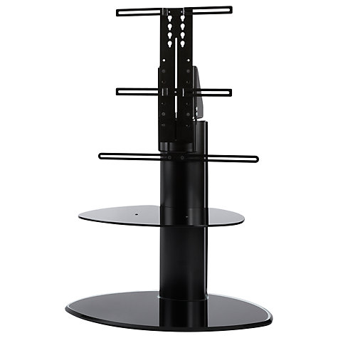 "Buy Off The Wall Motion TV & Soundbar Stand for up to 55"" TVs, Black Online at johnlewis.com"