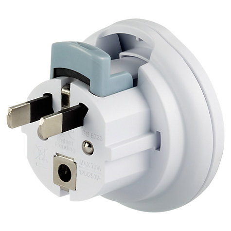 Buy Go Travel Mini Global Adapter, White Online at johnlewis.com
