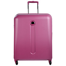 Buy Delsey Helium 4-Wheel Cabin Suitcase, Purple Online at johnlewis.com