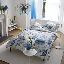 Buy Designer Guilds Ophelia Standard Pillowcase, Blue Online at johnlewis.com