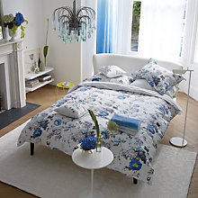 Buy Designer Guilds Ophelia Oxford Pillowcase, Blue Online at johnlewis.com