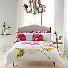 Buy Harequin Hermosa Standard Pillowcase, Pink Online at johnlewis.com