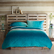Buy Harlequin Serene Ombre Oxford Pillowcase, Turquoise Online at johnlewis.com