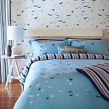 Buy Scion Flight Sky Standard Pillowcases, Blue Online at johnlewis.com