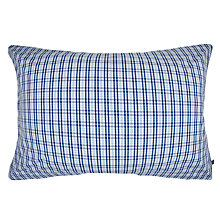 Buy Gant Montauk Check Oxford Pillowcase, Blue Online at johnlewis.com