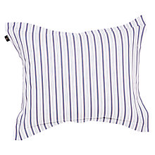 Buy Gant Sailor Stripe Oxford Pillowcase, Blue Online at johnlewis.com