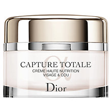 Buy Dior Capture Totale Haute Nutrition Crème, 60ml Online at johnlewis.com