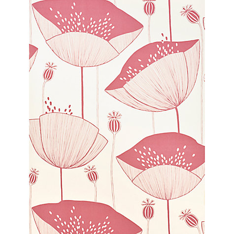 Buy MissPrint Poppy Wallpaper Online at johnlewis.com
