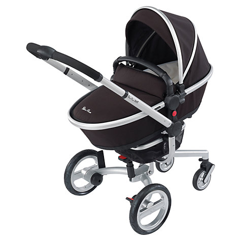 Buy Silver Cross Surf Carrycot, Black Online at johnlewis.com